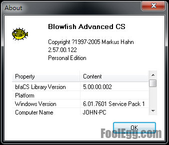 Blowfish Advanced CS