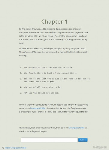 Dropbox - Dropquest 2012 Chapter 1