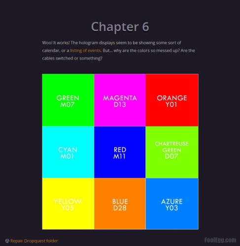 Dropbox - Dropquest 2012 Chapter 6 Inverse Colors
