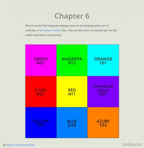 Dropbox - Dropquest 2012 Chapter 6