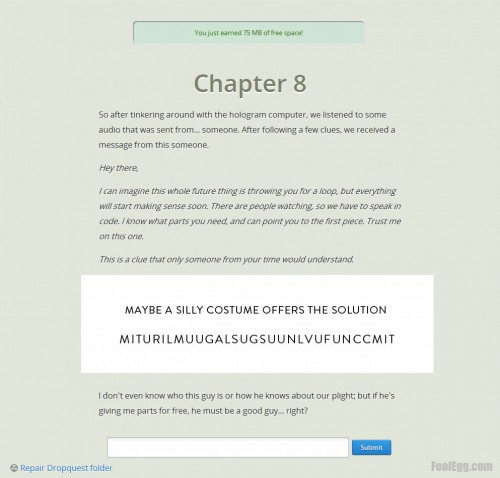 Dropbox - Dropquest 2012 Chapter 8