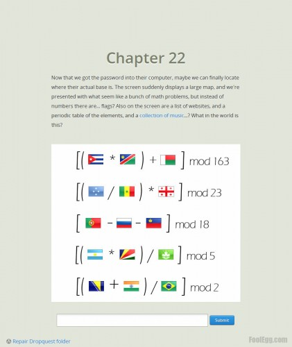 Dropbox - Dropquest 2012 Chapter 22