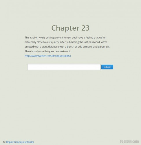 Dropbox - Dropquest 2012 Chapter 23